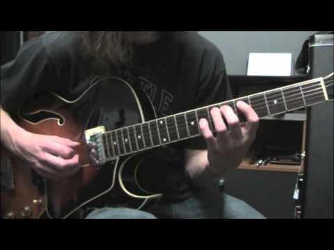 John Coltrane Giant Steps Licks #1 Guitar Lesson