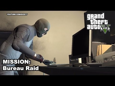 gta 5 gameplay walkthrough mission 53 hacking the bureau