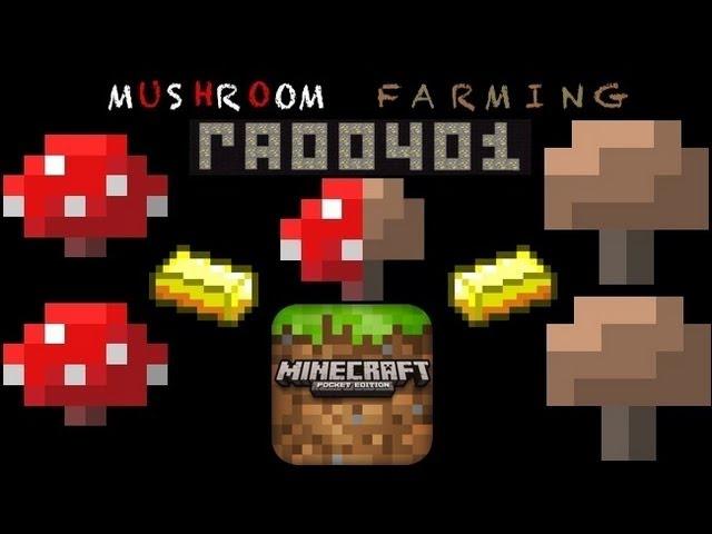 Mushroom Farming Tutorial: Minecraft PE