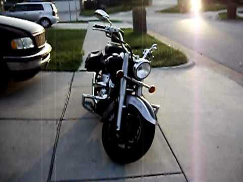 My 2004 Yamaha V Star 1100 Classic