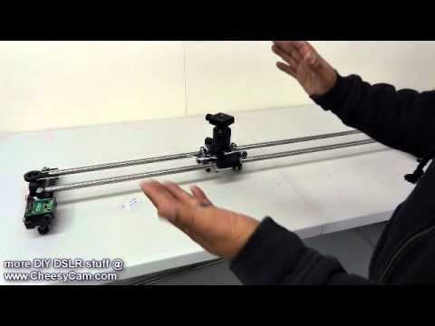 Diy motorized juicedlink slider kit youtube Motorized video slider