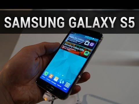 Samsung Galaxy S5, prise en main au MWC 2014 - par Test-Mobile.fr