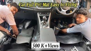 How to Instal Car Full Pvc Mat | Easy Car Floor Lamination | Tamil4U