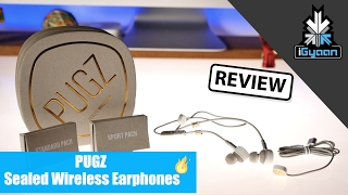 Pugz Sealed Wireless Earphones Review + Giveaway X 2