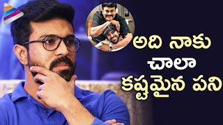 Ram Charan Opens up about Stardom and Being Chiranjeevi Son | Rangasthalam | #RRR |Telugu FilmNagar
