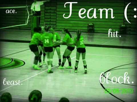 North Side Middle School 8th grade volleyball team of 2010 :)
