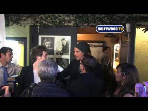 Josh Hartnett At A Premiere In West Hollywood