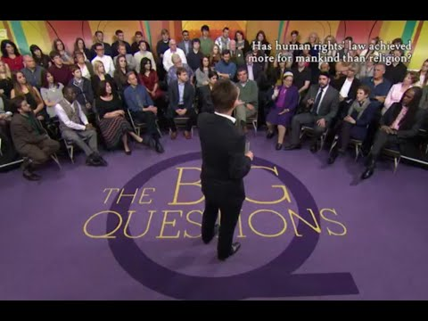 BBC 2 Debate - Has Human Rights achieved more than Religion? The Big Questions