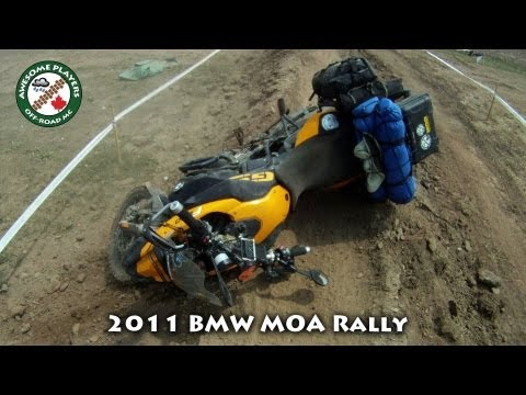 F800Gs and HP2 Crash at the BMW Motorcycle Owners of America Rally 2011