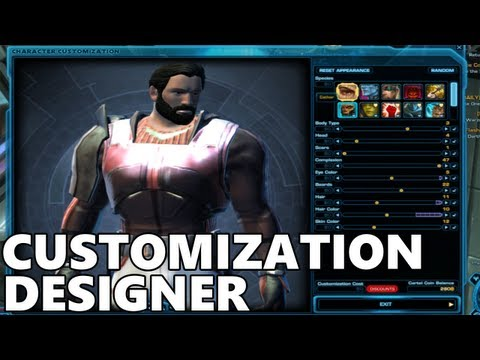 SWTOR - Customization Designer - Update 2.1