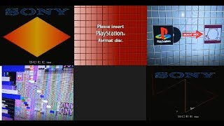 All PS1 Errors! + how to get them/trigger them