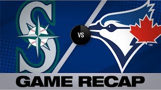 Seager's HR in 8th lifts Mariners to 4-3 win | Mariners-Blue Jays Game Highlights 8/17/19