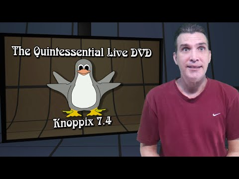 Knoppix 7.4: The Quintessential LIVE DVD!