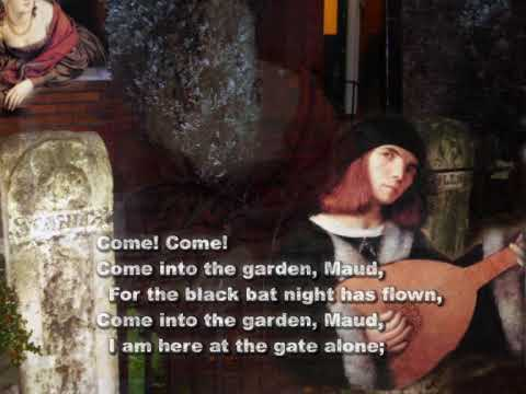 Come into the Garden Maud - arranged for alto (or bass) voice and guitar