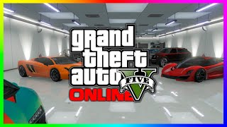 GTA 5 Garage Tour - GTA 5 Online Super & Sports Cars! (GTA V)