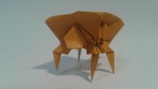 Origami: How To Make An Insect (tick)