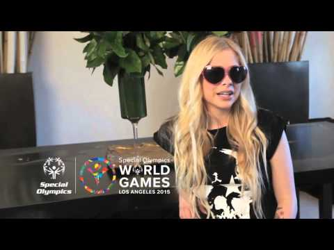 download lagu Help Avril Lavigne Support Special Olympics For Her Birthday gratis