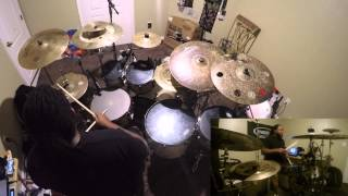 Teyana Taylor ft. Pusha T- Maybe (drum cover) Marcus Thomas