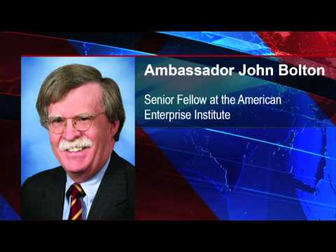 Amb. John Bolton On Israeli Airstrikes On Syria And Benghazi