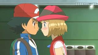 Serena Kisses Ash [Uncensored]