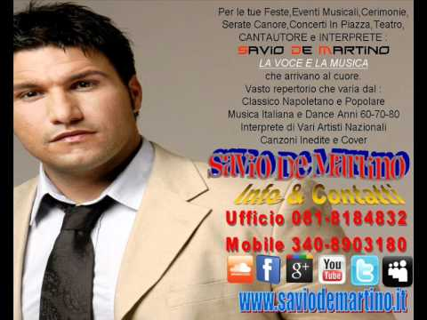 SDM Production – Savio De Martino – INFO E CONTATTI [ Music Live ] VIDEO PROMOZIONALE