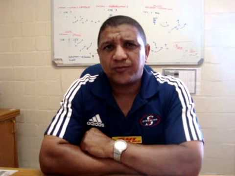 Stormers coach Allister Coetzee on the Lions
