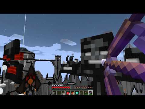 Giant Wither Boss Battle Finale - Minecraft Diversity 2 video