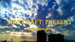 Anniversary/ Birth day/Valentine day Explosion Box = DIY gifts Idea