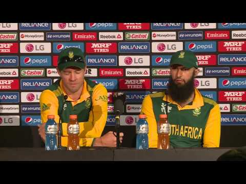 Post Match Press Conference South Africa v Ireland Hashim Amla & Ab De Villiers