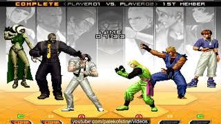 KOF 2002 UM - Sha zing VS Nikolai-保力達【22•12•2018 FT10】