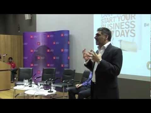 Start Your Business in 7 Days - James Caan at LSE, March 2012 (Part 1)