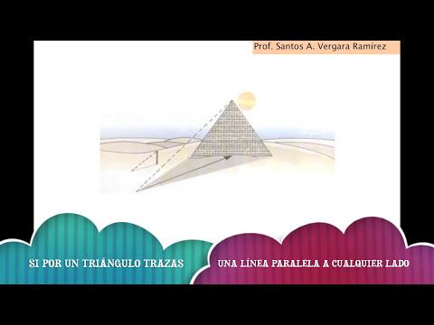 APLICANDO EL TEOREMA DE TALES