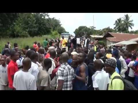 EBOLA REACTION IN CENTRAL LIBERIA