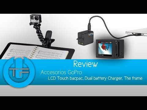 Accesorios GoPro Hero 4 - LCD Touch, Dual Battery Charge, Frame