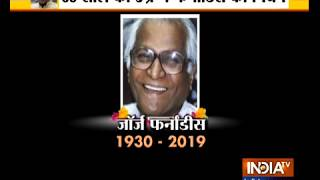 George Fernandes, India's ex-defence minister, dies at 88