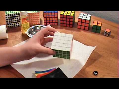 How To Replace Rubik's Cube Stickers (v2)