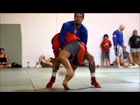 Rdojo presents NOLA BJJ Sambo Team - 2013 North American Freestyle Sambo Championships Highlights Image 1