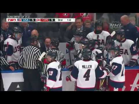 2018 Hlinka Gretzky Cup   U.S. Falls To Canada In Semifinals