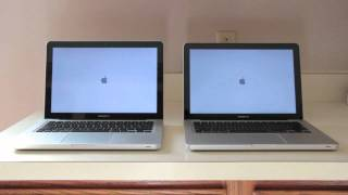 2011 Macbook Pro_ HDD vs SSD | Bootup Speed Test