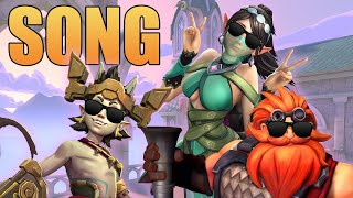 The Paladins Song Bruno Mars The Lazy Song Parody