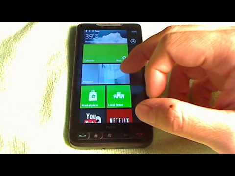 HTC HD2 - Windows Phone 7.5 mango 8107
