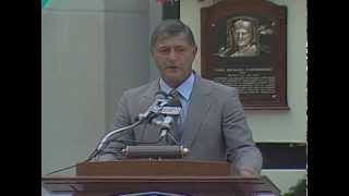 Carl Yastrzemski 1989 Hall of Fame Induction Speech
