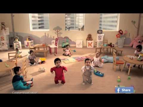 Kitkat New Ad Dancing Babies Hd Full Advertisement] 2013 video