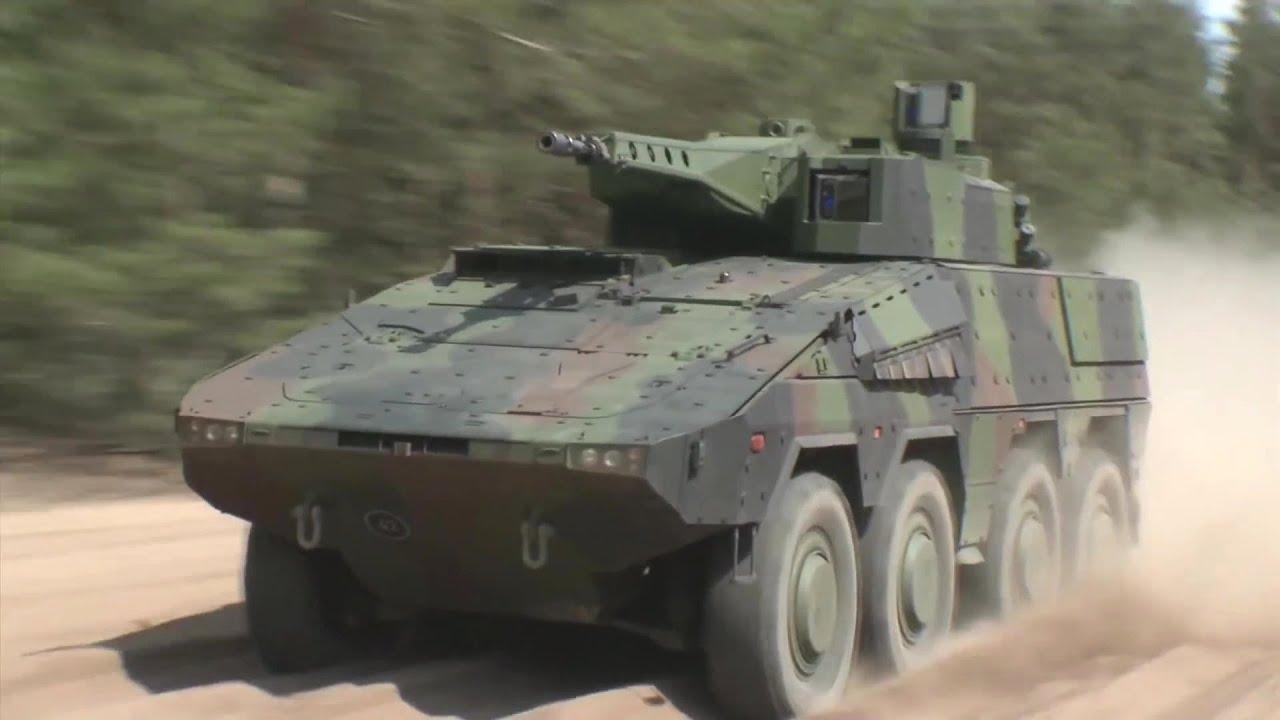 Vídeo: Veículo de Infantaria 8 X 8 Boxer IFV da Rheinmetall Defence