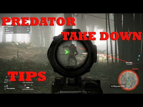How to BEAT the PREDATOR TIP/TRICKS Wildlands