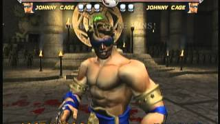 Mortal Kombat Deadly Alliance (X Box) Game Play