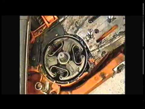 Husqvarna 575XPG Chainsaw Clutch Repair