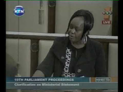 9pm parliament on kenyans arrested in china