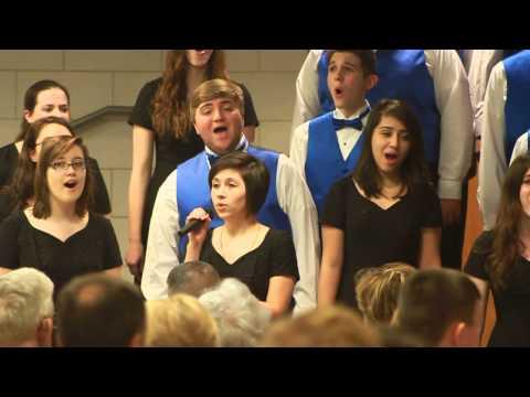 Erin Buckingham - Oh Happy Days - Helias high school Choir