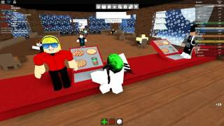 (ROBLOX) Work at a Pizza Place!